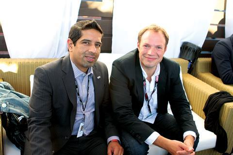 Salman Cheema and Will Massa from the British Council Toronto and London offices